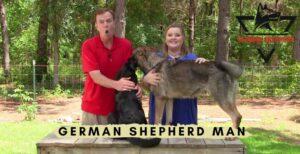 German Shepherd Man